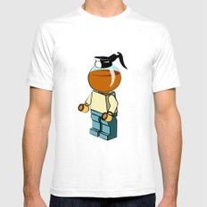 Leggo my coffee White SMALL Mens Fitted Tee