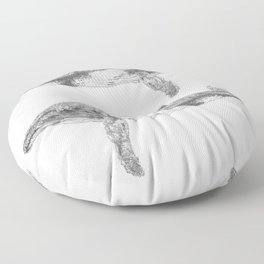 A Humpback Whale Floor Pillow