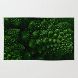 Macro Romanesco Broccoli - Low Key Rug