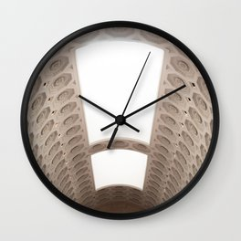 Light and Arches Wall Clock