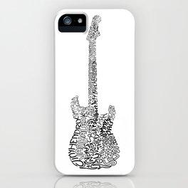Guitarists iPhone Case