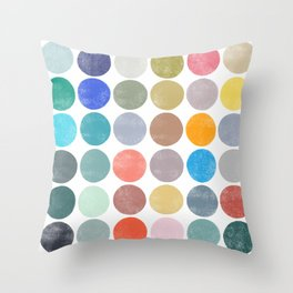 colorplay 19 Throw Pillow