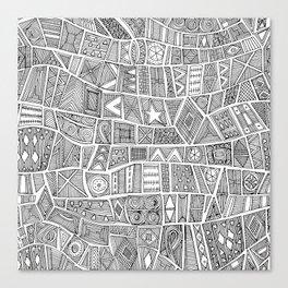 ESHE black white Canvas Print