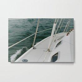 Sailing on Portage Lake Metal Print
