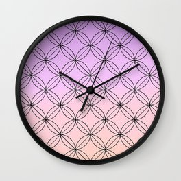 Geometric II Wall Clock