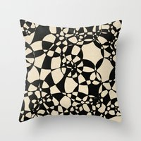 mosaic Throw Pillows featuring Mosaic by Glanoramay