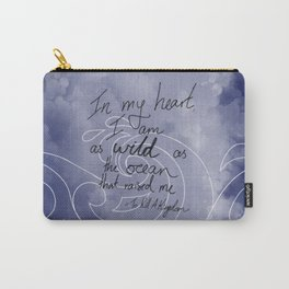 Wild as the Ocean Carry-All Pouch