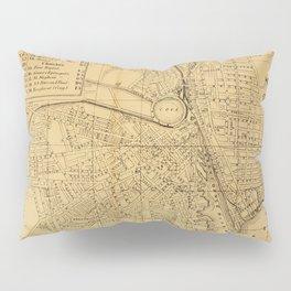 Vintage Map of Providence RI (1880) Pillow Sham