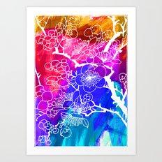 Flowers I Art Print