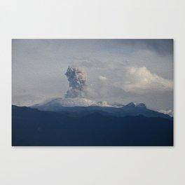 Nevado del Ruiz Canvas Print