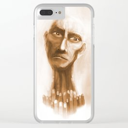 The last look Clear iPhone Case