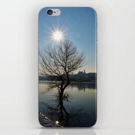 Sun over Vistula iPhone Skin