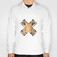 xbox Hoodies featuring Leopard by Zavu