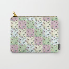 Pajama'd Baby Goats - Small Patchwork Carry-All Pouch