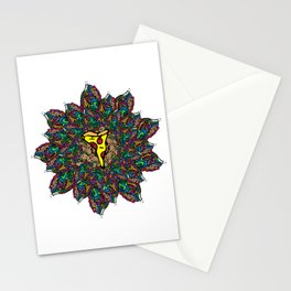 Psychedelic Pizza Stationery Cards