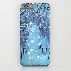 the blues of winter iPhone 6 Slim Case