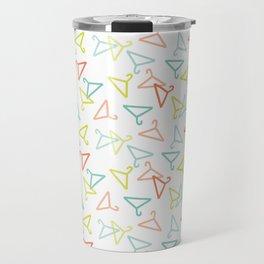 Coloured Hangers Travel Mug