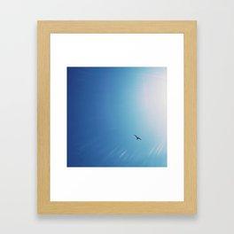 Flying to the sun Framed Art Print