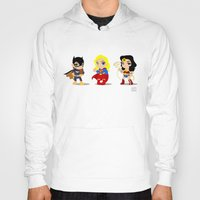 girl power Hoodies featuring Girl Power by Nate Kelly