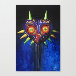 Masked Painting Canvas Print