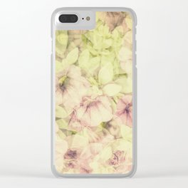 Pink Summer Joy Clear iPhone Case