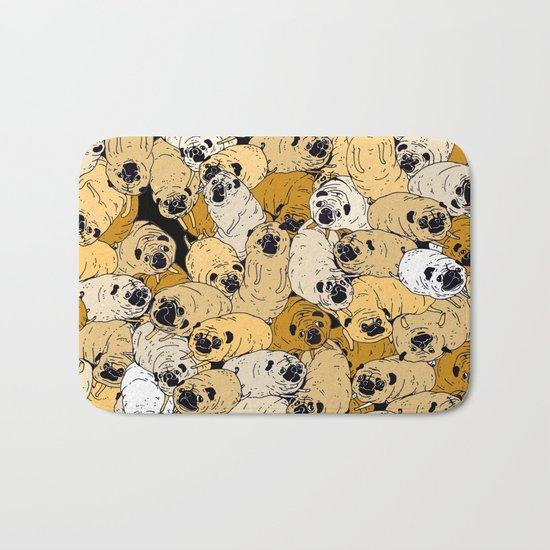 pug world Bath Mat