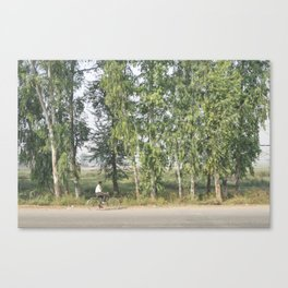 Indian Bicycle Canvas Print