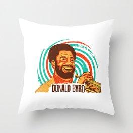 Trumpet Master Throw Pillow