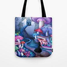 Alice - Gates to Wonderland Tote Bag