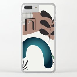 Shape study #8 - Synthesis Collection Clear iPhone Case