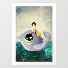 If I Could Have a Pet Art Print