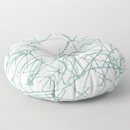 The Inside of My Mind Floor Pillow