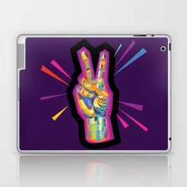 Peace in Dark Times Laptop & iPad Skin