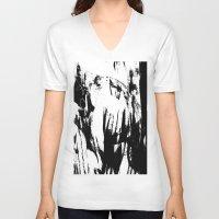 sketch V-neck T-shirts featuring sketch by Kathead Tarot/David Rivera
