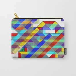 Geometric Bird of Prey Carry-All Pouch