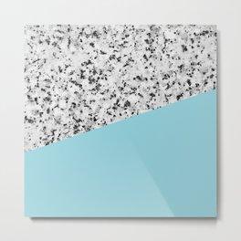Granite and island paradise color Metal Print
