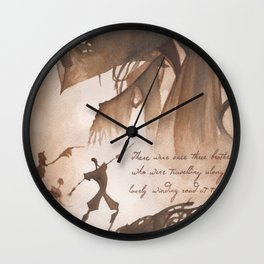 The Tale of Three Brothers Wall Clock