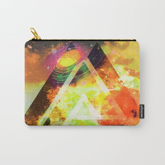 space triangles Carry-All Pouch