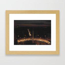 Piazza del Popolo Framed Art Print