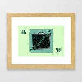 The Vox Framed Art Print