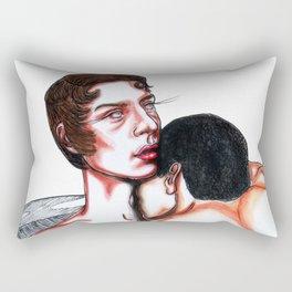 The Life of Edward Mott Rectangular Pillow