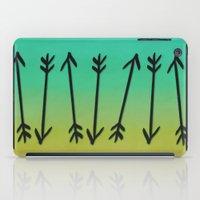 arrows iPad Cases featuring Arrows by Leah Flores