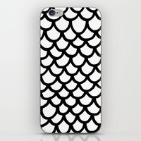 scales iPhone & iPod Skins featuring Scales by Geryes