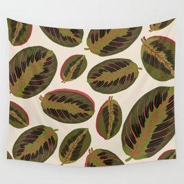 Maranta leaves Wall Tapestry