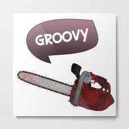 Evil dead Groovy Metal Print