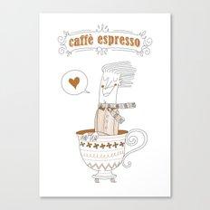 Caffè Espresso Canvas Print