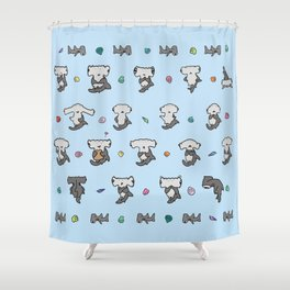 Hammerhead Sharks Shower Curtain