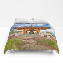 Korean Bell Garden Comforters