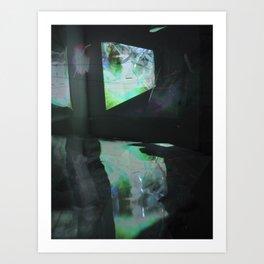 reflection pool Art Print