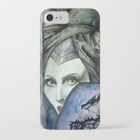 maleficent iPhone & iPod Cases featuring Maleficent by Giulia Colombo